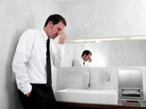 На фото: концентрация ПСА возрастает при проблемах с мочеиспусканием