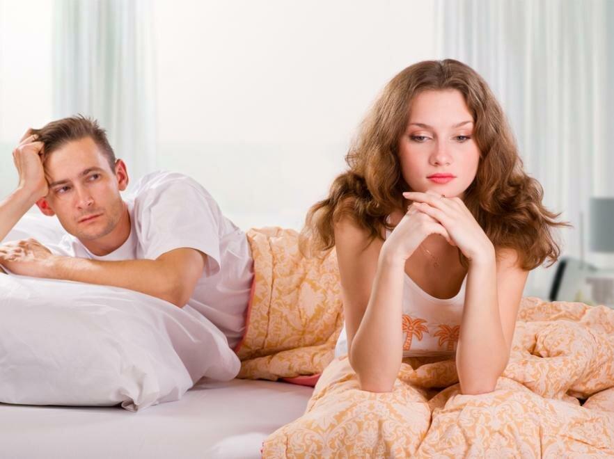 На фото: что делать, если у мужа не стоит