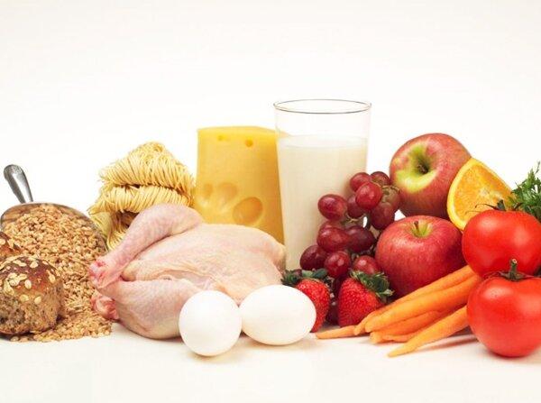На фото: полноценная и питательная диета
