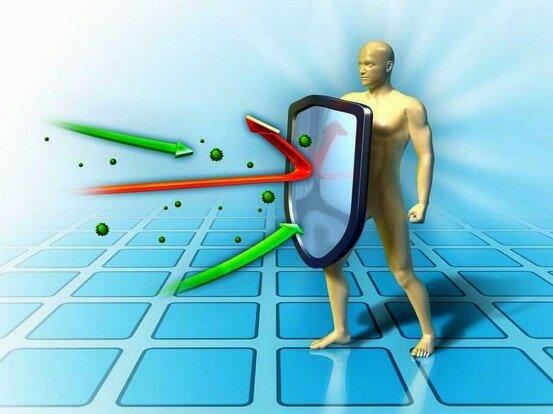 На фото: повышение иммунитета