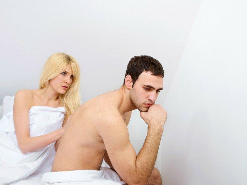 На фото: расстройство половой функции