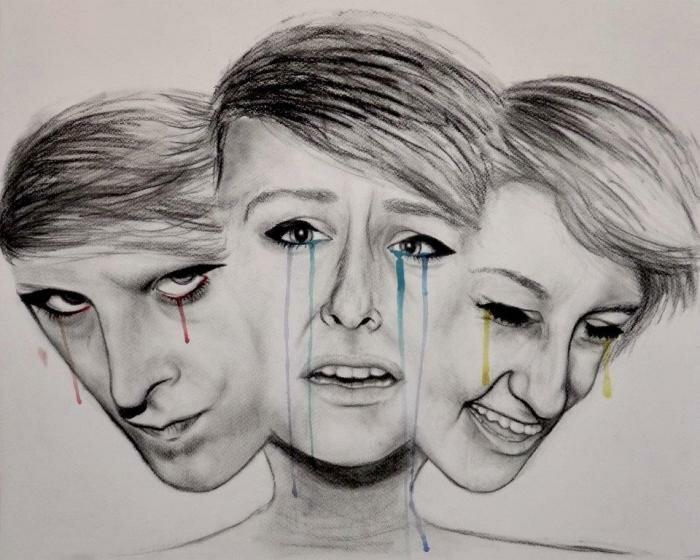 На фото: расстройства личности