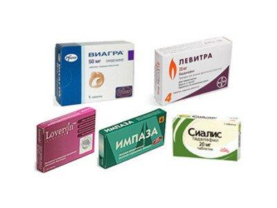 препараты для увеличения эрекции
