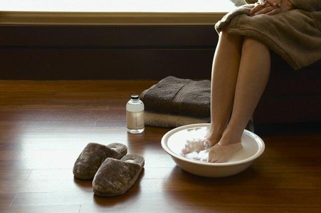 На фото: ванночки для ног