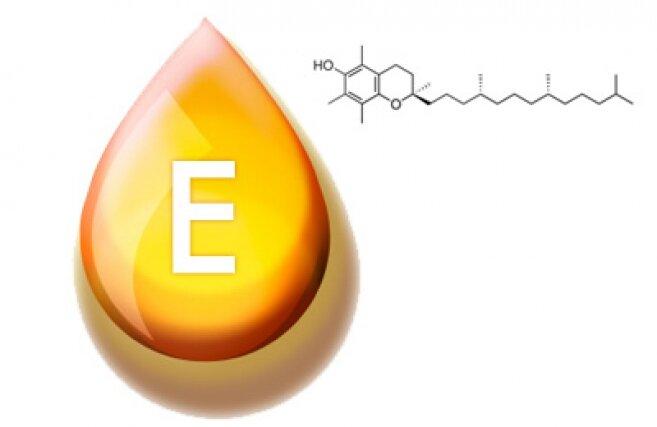 На фото: витамин Е