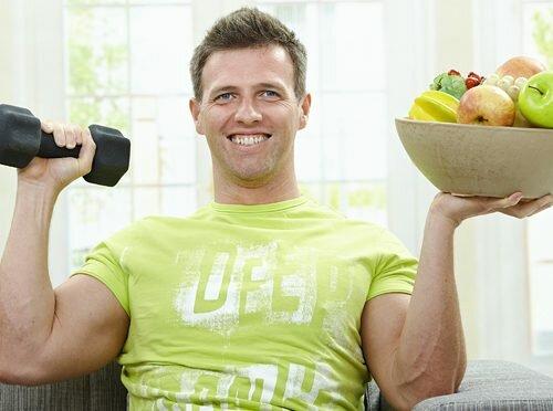 На фото: здоровый образ жизни